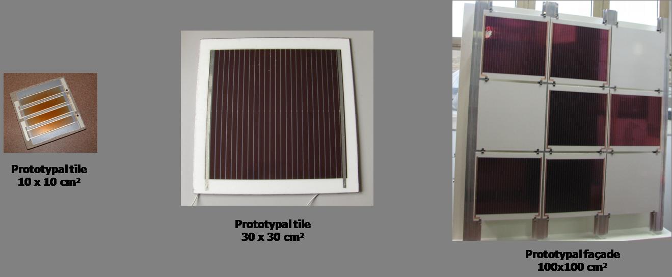 Piastrelle fotovoltaiche PV