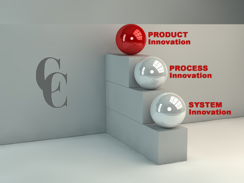 Product, process, system innovation